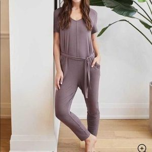 Knix Romper in Violet Dusk with Pockets XXL